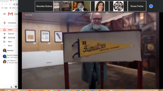 Hamilton Wood Type Foundry zoom lecture