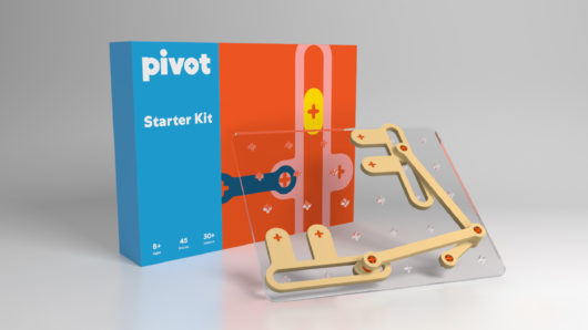 Pivot product shot and packaging