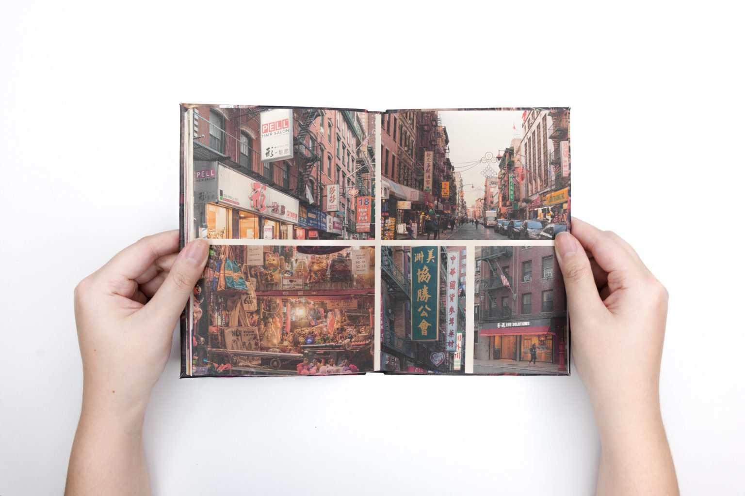Book spread from 37 Years, 5 Weeks, 1 Day by Fay Qiu