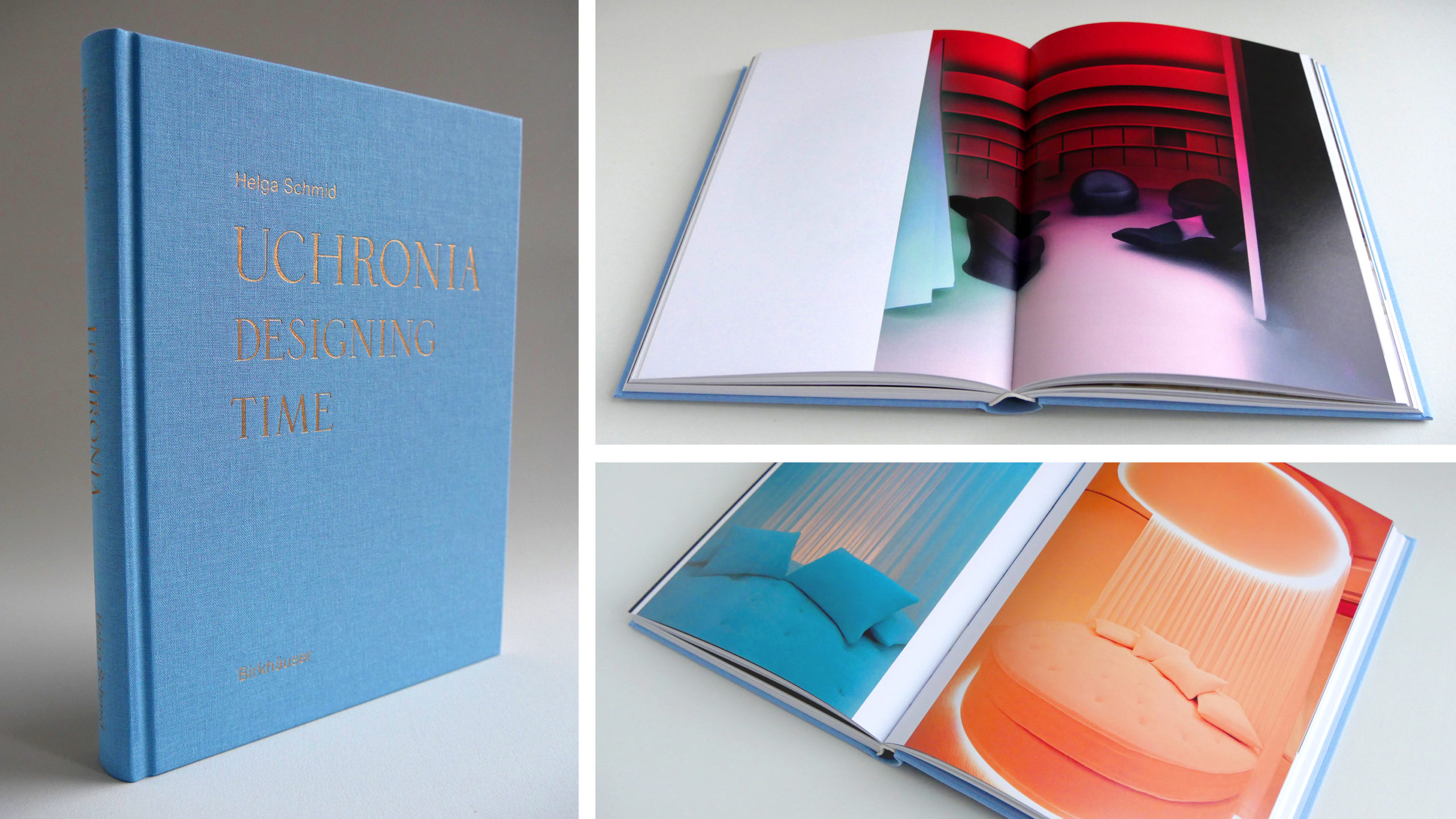 cover and inside pages of Uchronia book
