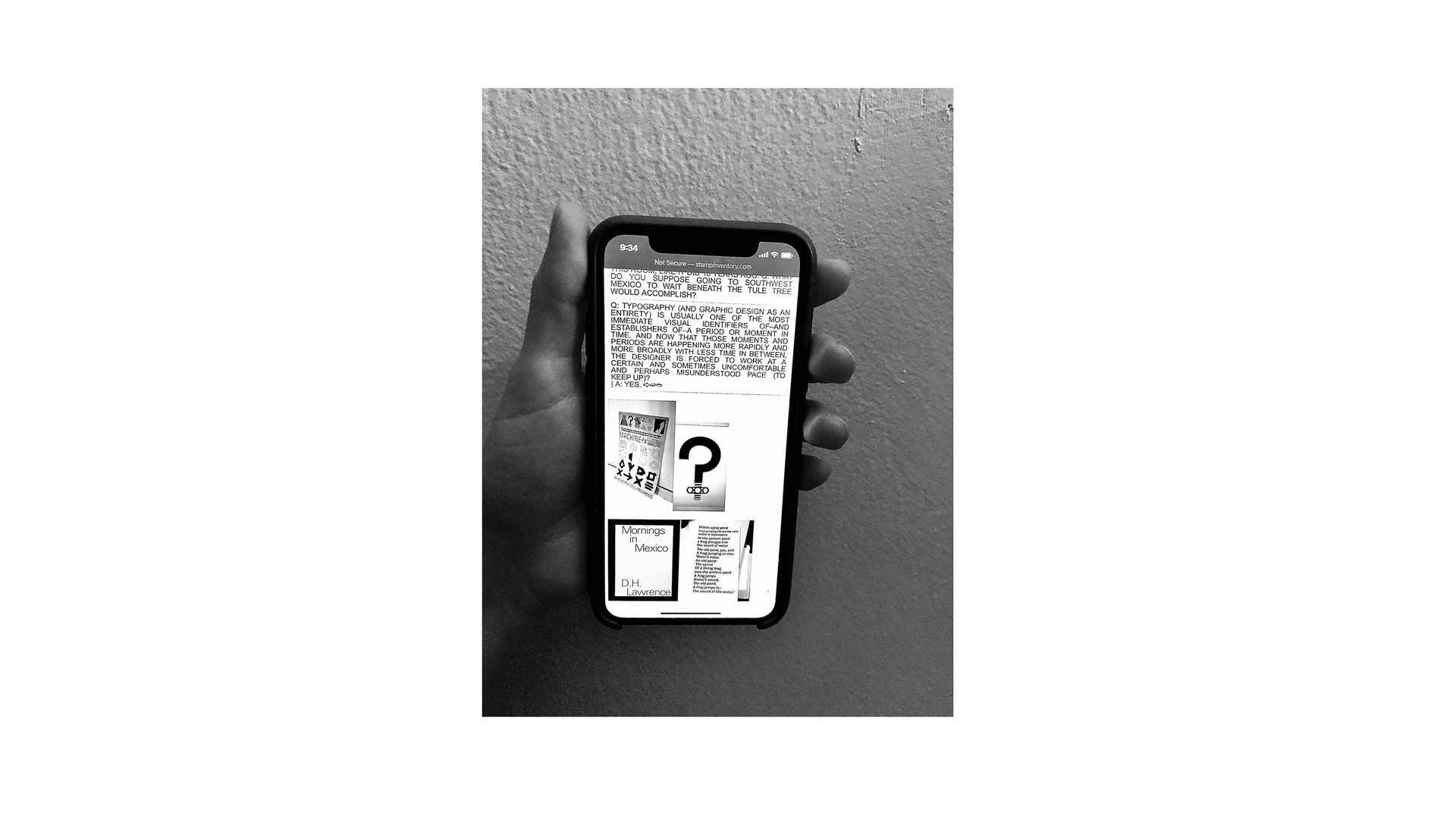 iphone app designed by Bronson Stamp