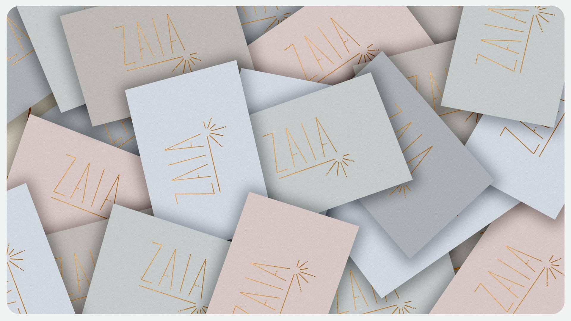 Identity design for ZAIA
