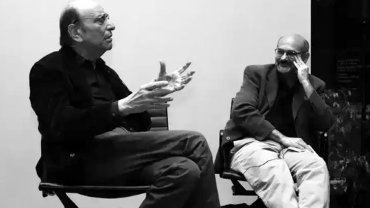 Milton Glaser and Steven Heller in conversation