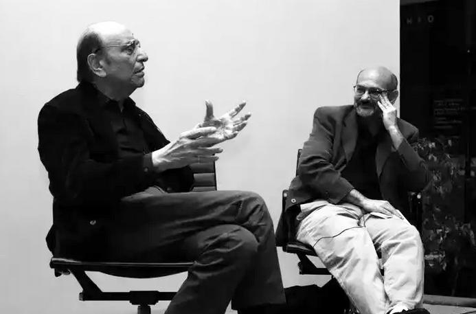 Milton Glaser and Steven Heller in conversation