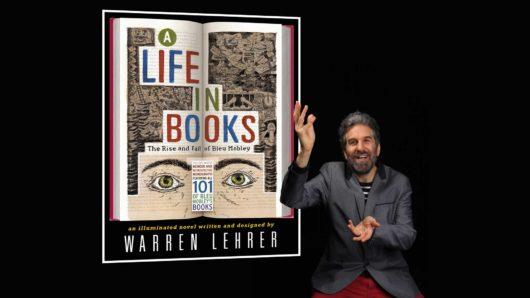 warren with his book