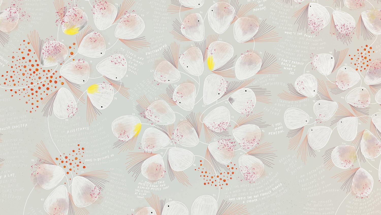 flower art work by giorgia lupi