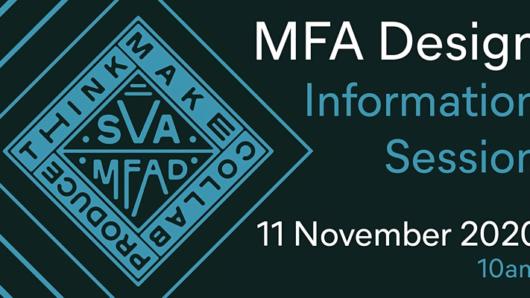 MFA Design Information Session 11 November 2020 at 10am EST