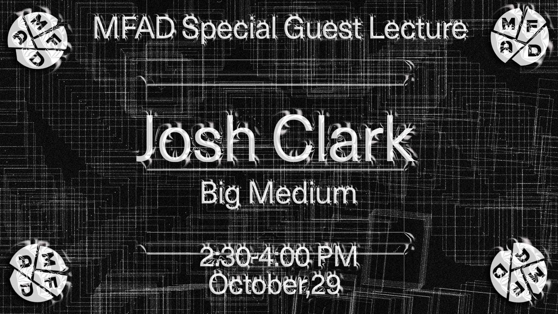 Josh clark big medium poster
