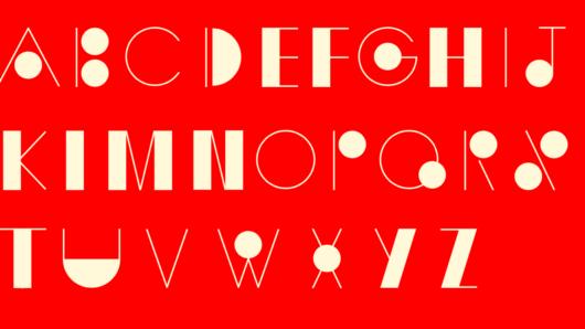 sutnar type speciment red