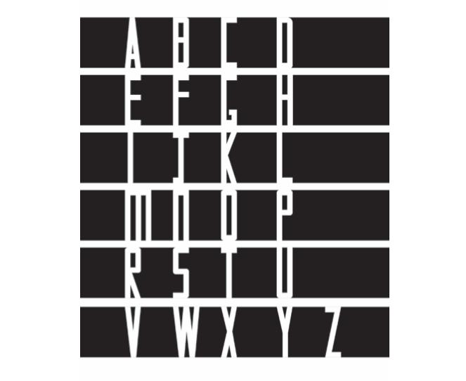 sutnar type speciment layout