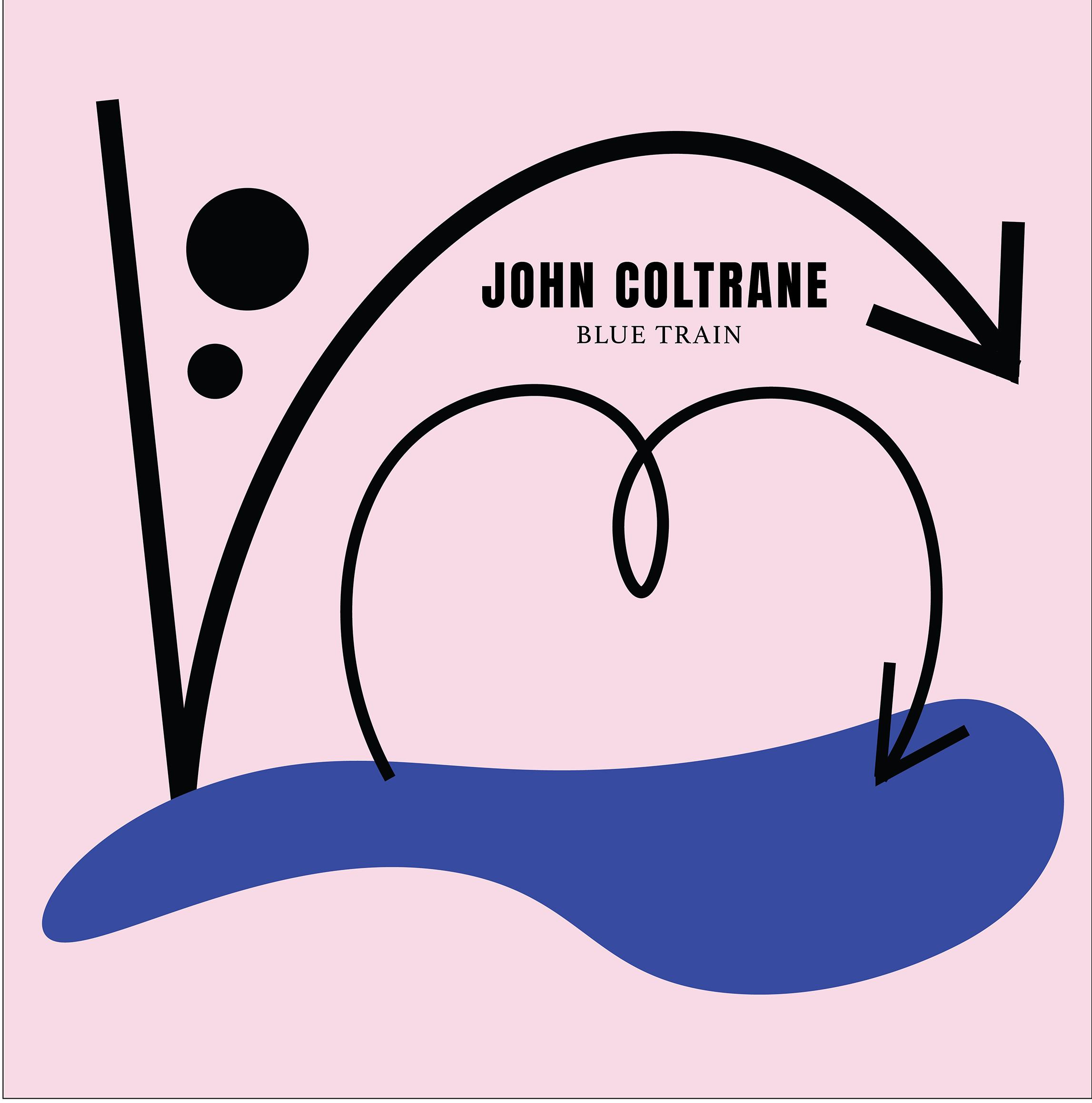 John coltrane record cover
