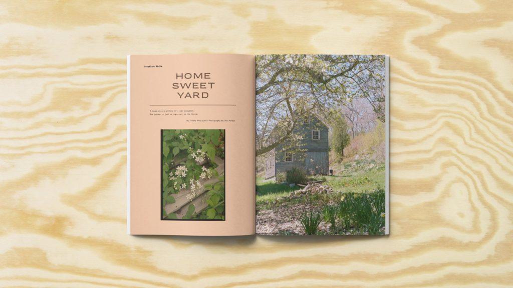 Krista Lewis home magazine spread