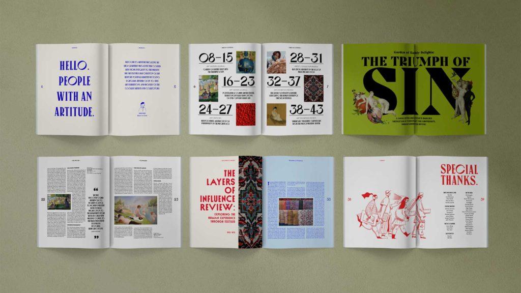 "Wei wei Wei Wei ""artitude"" magazine spread"