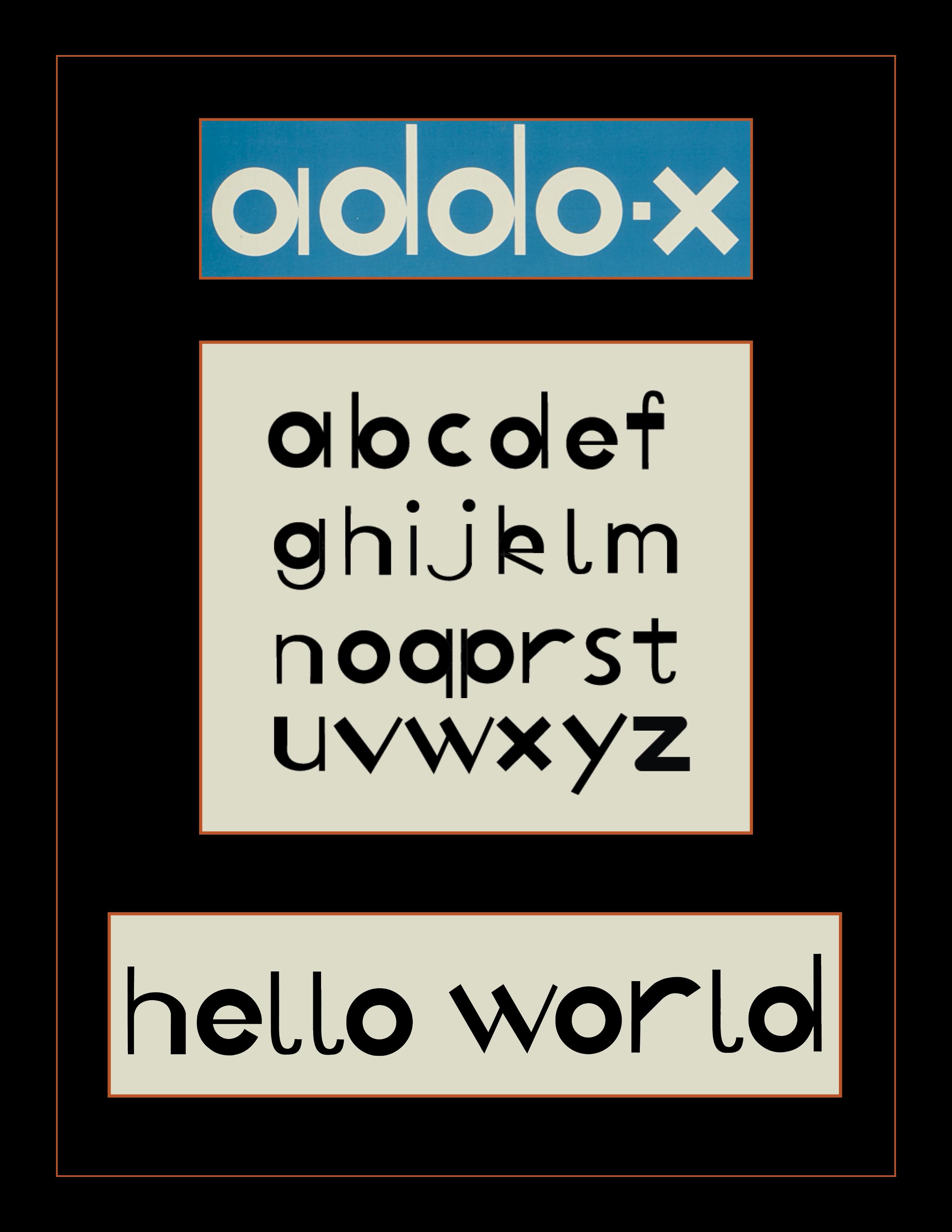 type design inspired by ladislav sutnar