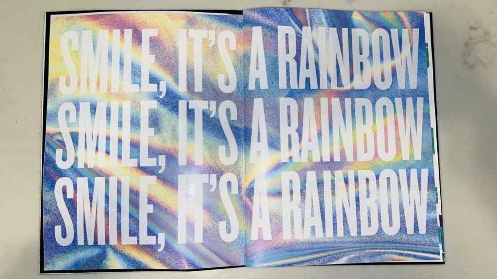 Emily Roemer - Rainbow Mag - smile its a rainbow