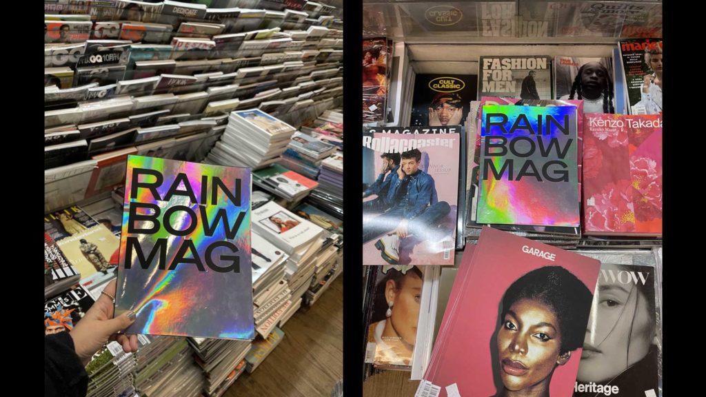 Emily Roemer - Rainbow Mag magazine shop interior
