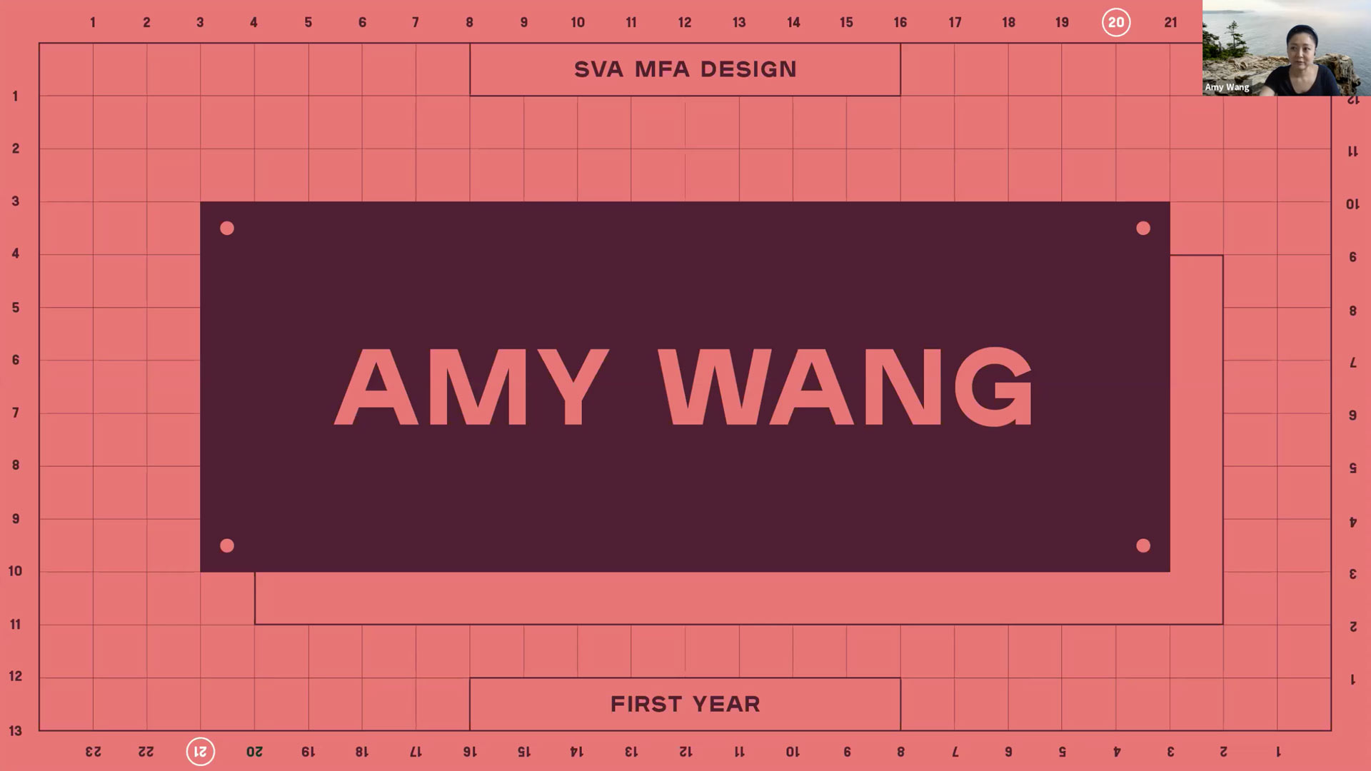 first year faculty - Amy Wang