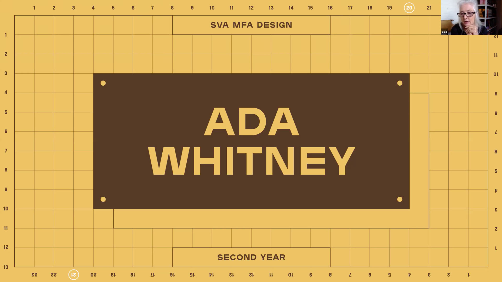 second year faculty - Ada Whitney