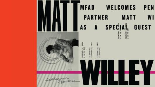 Matt Willey Poster by Julia Hummel