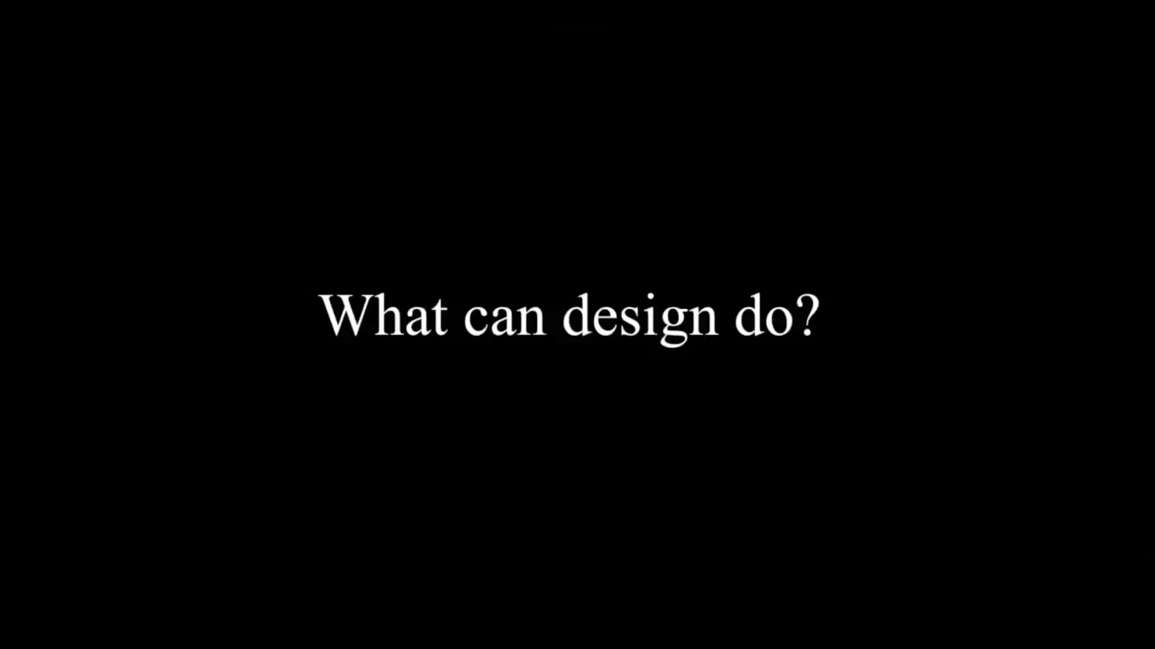 Robert Wong graphic - what can design do?