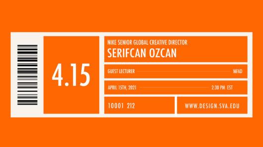 Serifcan Ozcan orange graphic